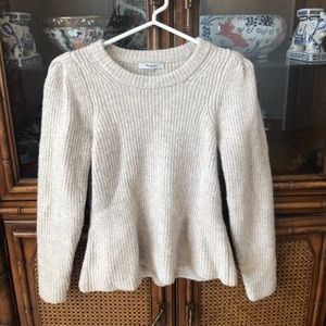 Madewell Sweater with Flare